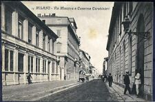 1905 - Milano - Via Moscova e Caserma Carabinieri