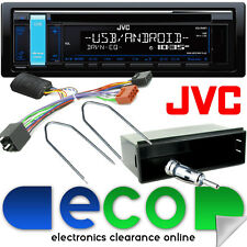PEUGEOT 307 CC SW 2001-2005 JVC CD mp3 USB CAR STEREO VOLANTE KIT DI MONTAGGIO