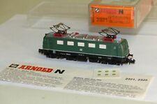 Arnold 2321 E-Lok BR 141 444-0 DB Simplex Kupplung Spur N 1:160 TOP Zustand OVP