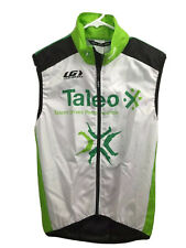 Louis Garneau Cycling Vest Mens XS Green Sleeveless Full Zip Road Bike Mesh New