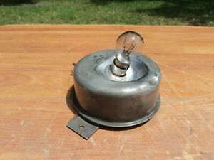 1930s 1940s ACCESSORY UNDERHOOD WIND OUT TROUBLE LIGHT JOHN N HOBBS