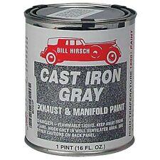 Bill Hirsch Cast Iron Gray High-Temp Exhaust/Manifold Paint, Pint, USA #BH-CIP