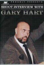 Gary Hart Shoot DVD WWE WWF WCW WCCW Von Erich World Class Bret Gino Hernandez