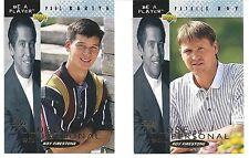 1994-95 Be A Player Up Close and Personal Lot UC-8 Patrick Roy UC-9 Paul Kariya