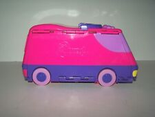 Pound Puppies Van Fold Out Playset Toy Pink Purple (1995) 2 puppies