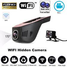 HD 1080P Hidden Wifi Coche SUV DVR Dash vídeo Recorder Dual Lens cámara G-Sensor