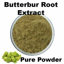 90g BUTTERBUR Root Extract Powder. 15% Petasins. For Insomnia Asthma Stomach