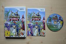 Wii-MEDIEVAL GAMES - (scatola originale, con istruzioni)