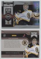 2010-11 Limited Banner Season Silver Spotlight #20 Tim Thomas Boston Bruins Card