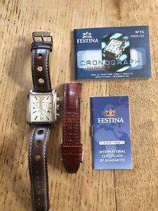 Festina Men's Watch No. F3 FS00/01