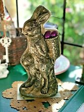 Primitive Vintage Style Easter Spring Faux Bunny Rabbit Cookie Mold Figurine