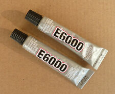 2 X  E-6000  Craft Glue Adhesive 5.32ml / .18Fl.OZ