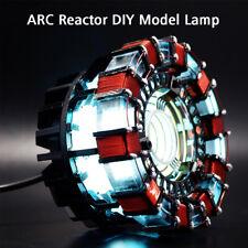 1:1 DIY ARC REACTOR Model Kit LED Chest Light Lamp USB Powered Movie Props Gifts