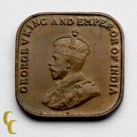 1926 Straits Settlements 1 Cent (AU) 1c KM# 32