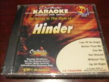 CHARTBUSTER 6+6 KARAOKE DISC 40440 HINDER CD+G POP MULTIPLEX