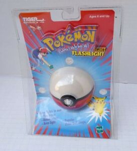 NEW Pokemon Deluxe Poke Ball Flashlight Tiger 2000 Model 89-222 1998 Nintendo