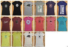 Converse Damen-T-Shirts aus Baumwolle keine Mehrstückpackung