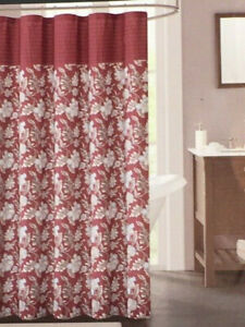 Decor Studio Fabric Shower Curtain - Isabella