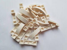 Lego White Slope Curved 1x4, Part 93273, Element 6023806, Qty:25 - New