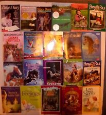 21 Lot Children's Books, Nancy Drew,Paint The Wind,Pony Pals,Wilder,Zlata's Diar