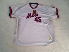 METS PEDRO MARTINEZ #45 MITCHELL & NESS COOPERSTOWN COLLECTION JERSEY 5X