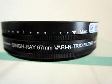 Singh-Ray 67mm Vari-N-Trio Variable ND Warming Circular Polarizer & Color Filter