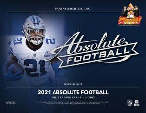 LOS ANGELES CHARGERS 2021 Panini Absolute Football 6-Box Half Case Break #1