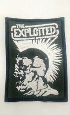 THE EXPLOITED EMBROIDERED PATCH IRON/SEW-ON  Classic Punk Rock