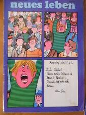 Nueva vida 6/1972 jutta Hoffmann sidney poitier Berko Acker ricky Shayne