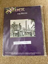 KINETIC LONG STITCH KIT – KL 404 Pit Head. Size 24cm X 18cm Sue Dakin