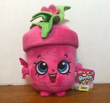SHOPKINS Peta Plant Stuffed Plush Toy Pink Pot from MOOSE TOYS NWT