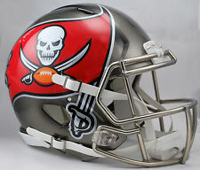 TAMPA BAY BUCCANEERS NFL Riddell SPEED Full Size AUTHENTIC Football Helmet