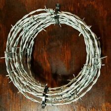 20 Feet Barb Wire Barbed Wire Bekaert 15.5 Gauge 4 Point Crafts Made in USA