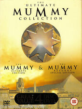 THE ULTIMATE MUMMY COLLECTION: THE MUMMY/THE MUMMY RETURNS (R2 Four DVD Box Set)