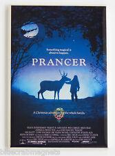 Prancer FRIDGE MAGNET (2 x 3 inches) movie poster reindeer christmas