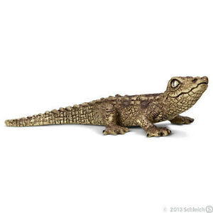 NEW SCHLEICH 14683 Baby Crocodile - Wildlife Zoo Life