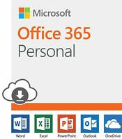 Office 365 personal 1 person 12 month subscription - PC and Mac