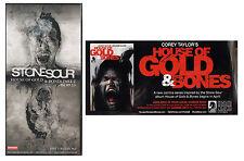 STONE SOUR House Of Gold & Bones Ltd Ed RARE Postcards +FREE Rock/Metal Stickers