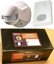 X2f - 110 ° PIR Movimento Sensore Trasmettitore con Gong/Alert Ricevitore d'allarme