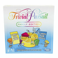 Trivial Pursuit Family Edition Board Game Hasbro new