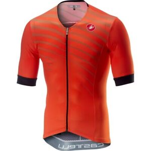 New Castelli Free Speed Race Aero Cycling Triathlon Jersey (Size Large)