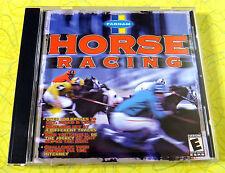 Farnam Horse Racing ~ PC CD Rom Game ~ Vintage Windows Computer Video Game