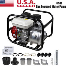 Gas Powered Water Pump 140gpm Water Transfer High Pressure Irrigation 2 65hp