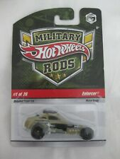 Hot Wheels 2008 Military Rods 2/26 Enforcer Sealed In Card