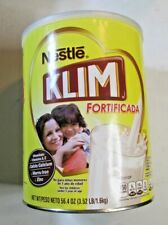 NEW Nestle KLIM Fortified Dry Whole Instant Milk Powder 56.4 oz. Can T-59