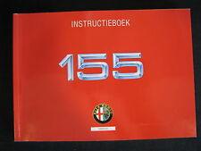 Alfa Romeo Instructieboekje Alfa Romeo 155  (Nederlands)