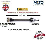 DRIVE SHAFT FITS FOR VW TRANSPORTER 1.9 2.0 2.4 2.5 2.8 1990-2003 LEFT RIGHT