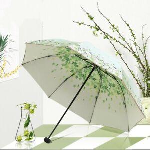 Double Layer Anti-UV Parasol Umbrella Folding Umbrellas Windproof for Women Girl