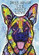 Dog Puzzle 1000 Piece Dogs Never Lie About Love Heye German Shepherd Dean Russo