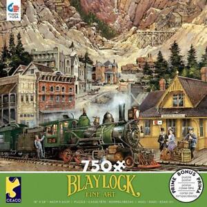 Ted Blaylock Fine Art  750 Ceaco Jigsaw Puzzle Silver Gulch